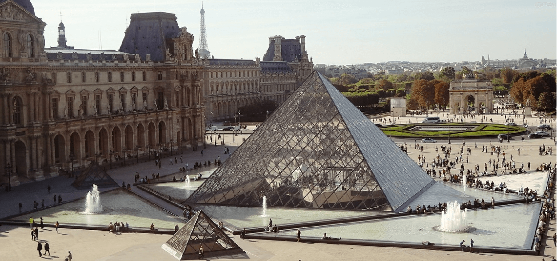 Pyramid Louvre Museum
