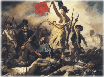 Liberty Guiding the People by Delacroix