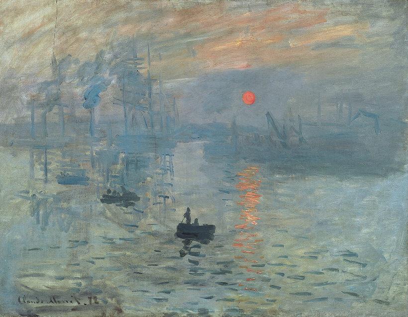 Soleil Levant, by Claude Monet