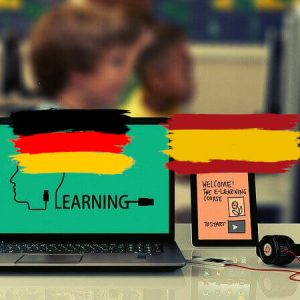 Learn online Learning Platforme Spanish German