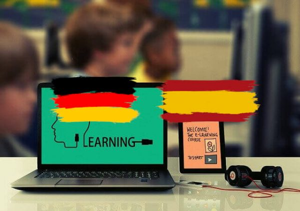 Learn online  Learning Platforme Spanish German
